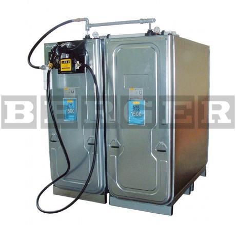 Dieseltankanlage mit Uni-Tank 1000 Liter