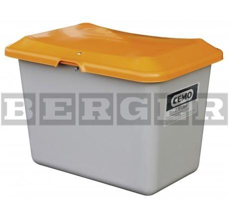 Streugutbehälter Plus3 grau-orange ohne Entnahme ohne Staplertasche