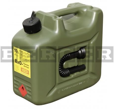 Ex0 Benzin Kanister mit Ex-Schutz-Füllung